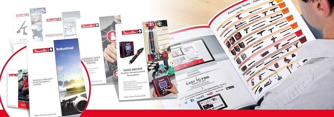 Catalogues & brochures Desoutter Industrial Tools
