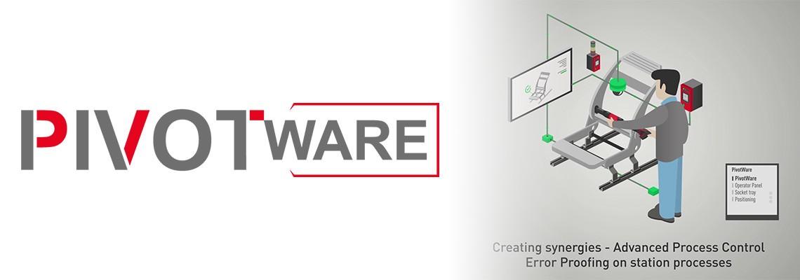 PivotWare by Desoutter : Systèmes de contrôle de production pour les opérations d'assemblage