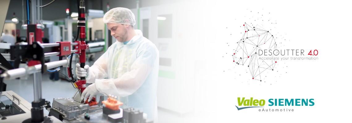 Valeo Siemens eAutomotive fait confiance aux solutions Desoutter !
