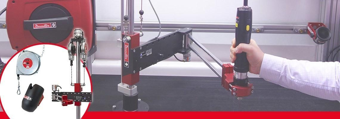 Découvrez tous nos accessoires industriels ergonomiques pour vous aider à optimiser la performance de vos outils à air comprimé industriels : FRL, équilibreur enrouleur de tuyau, tuyau, etc. Demandez-nous un devis !