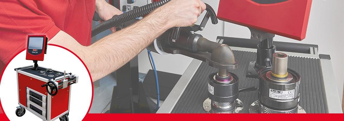 Bancs de capabilité pour reproduire les conditions normales d'utilisation d'un outil électrique lors de son étalonnage.