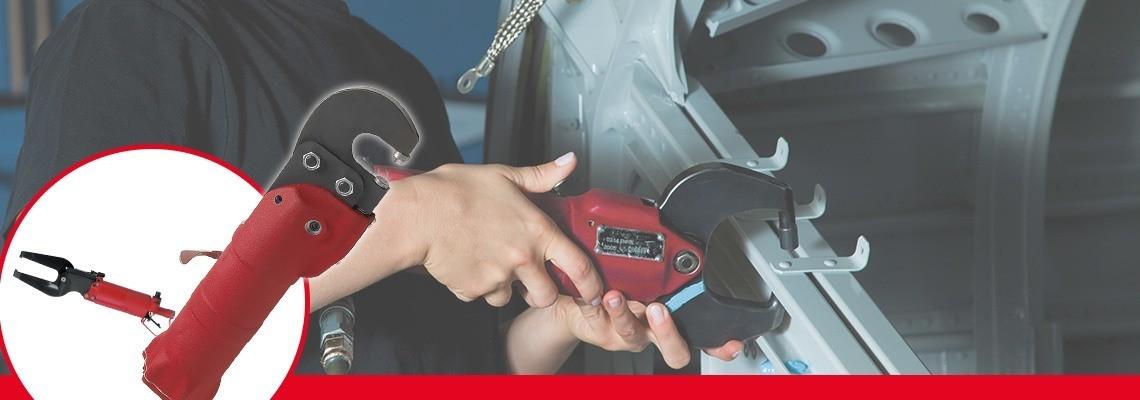 Desoutter Tools a conçu une gamme complète d'outils à compression pneumatiques pour les industries automobile et aéronautique. Demandez un devis ou une démonstration !