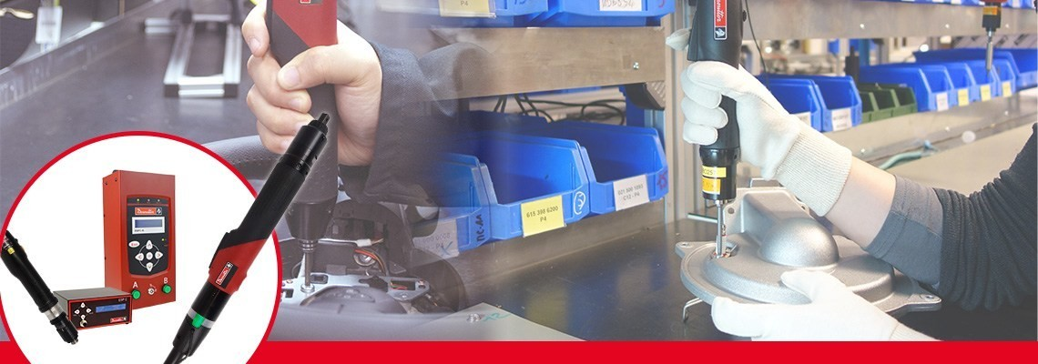 Découvrez les gammes d'outils SLBN et SLC par Desoutter Industrial Tools. Deux gammes complètes de visseuses électriques conçues pour une haute productivité.