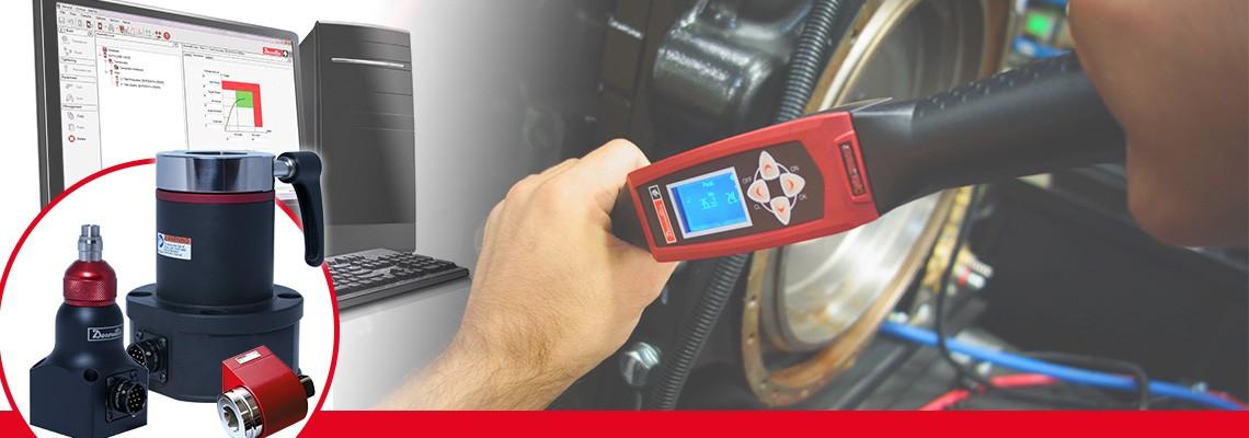 Desoutter Industrial Tools a conçu une gamme complète de capteurs de couple rotatifs pour mesurer le couple de sortie de tout outil d'assemblage sans impact.