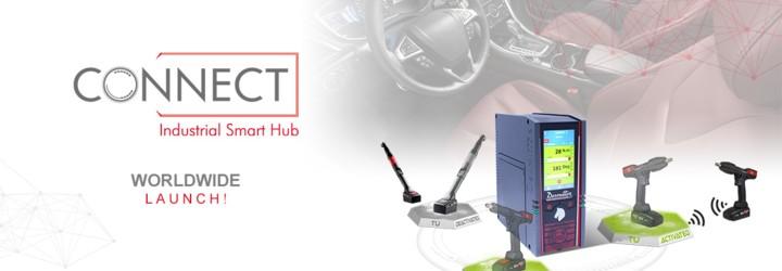 Nous sommes fiers de vous présenter la CONNECT, notre nouveau Hub Industriel Connecté : une solution Desoutter 4.0 !