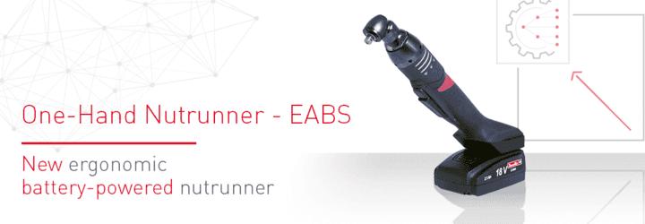 Nouvelle visseuse à batterie ergonomique : EABS !